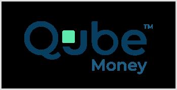 qube-money-dark-blue-text-green-white-background